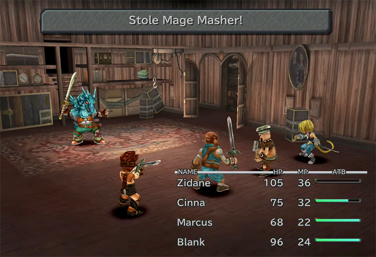 The Mage Masher in Final Fantasy IX