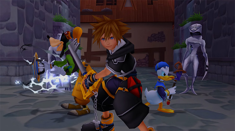 Hollow Bastion in KH 2.5 HD