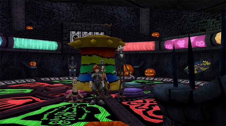 Halloween Town KH 2.5 HD World Screenshot