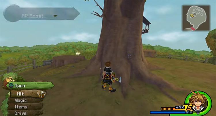 100 Acre Woods in Kingdom Hearts II HD