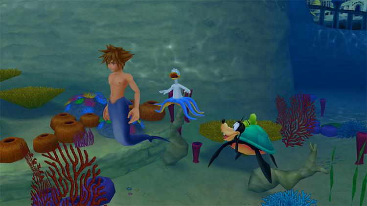 Atlantica / Kingdom Hearts 2.5 HD screenshot