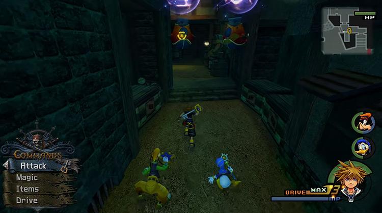 Port Royal in Kingdom Hearts HD 2.5 Remix