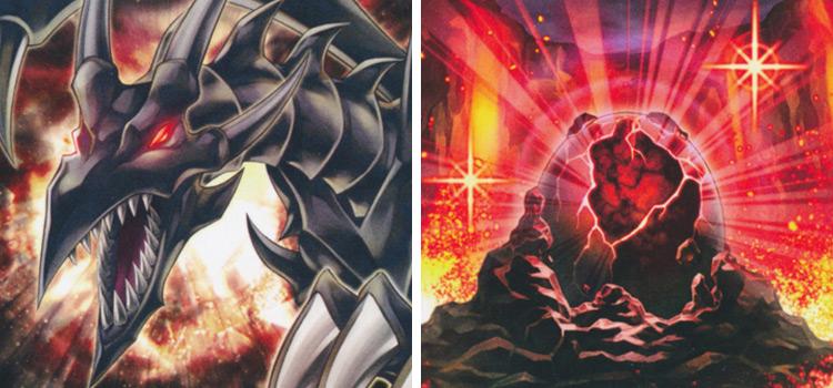 Redeyes Insight and Black Stone Legend YGO