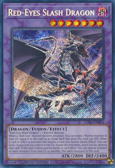 Red-Eyes Slash Dragon Yu-Gi-Oh Card