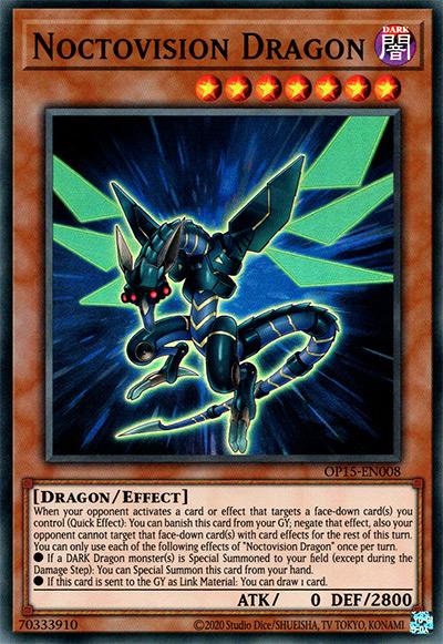 Noctovision Dragon YGO Card