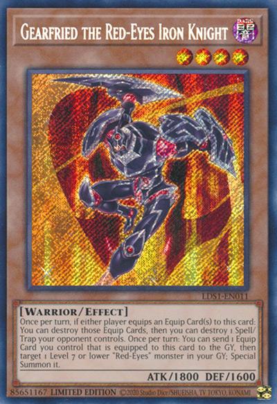 Gearfried The Red-Eyes Iron Knight Yu-Gi-Oh Card