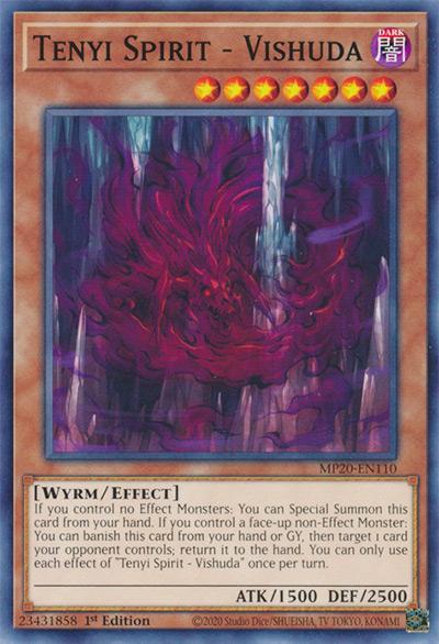 Tenyi Vishuda YGO Card