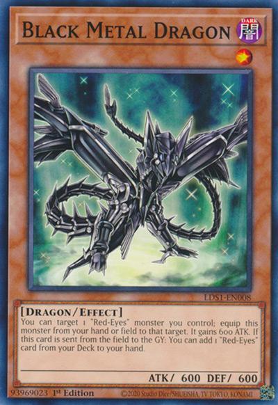 Black Metal Dragon Yu-Gi-Oh Card