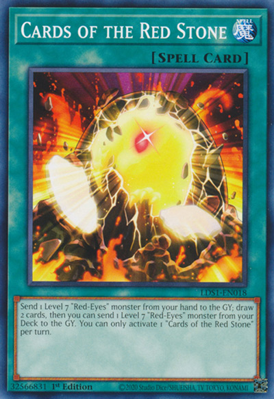 Cards Of The Red Stone YGO Card
