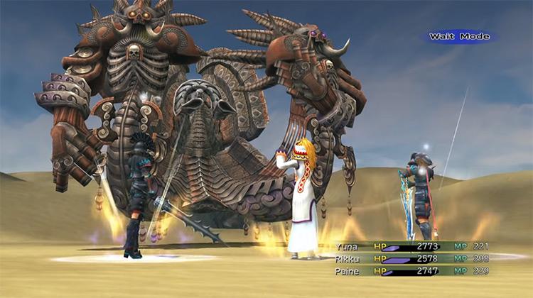 Angra Mainyu FFX-2 HD boss