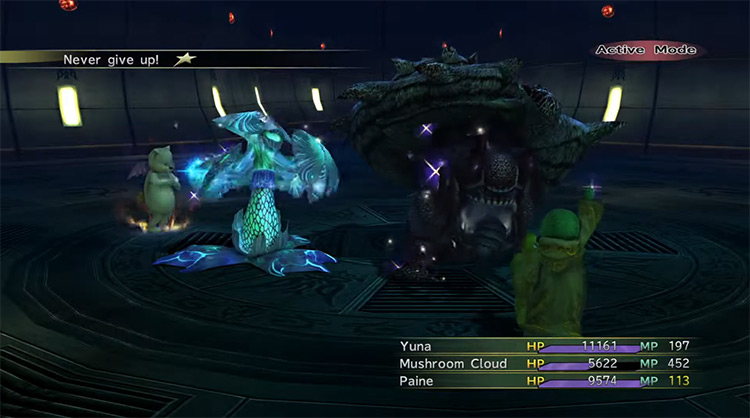Concherer boss in Final Fantasy X-2 HD