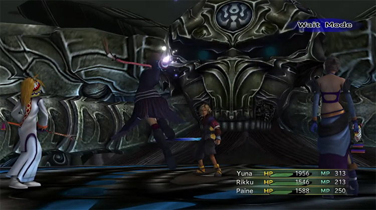 Shuyin Boss Final Fantasy X-2 HD