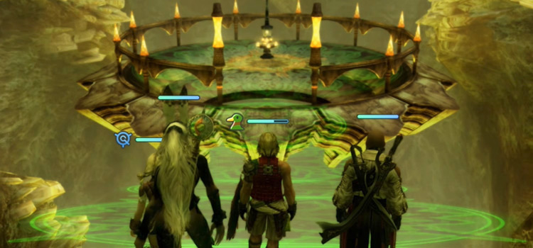 The Great Crystal sidequest preview from FFXII TZA