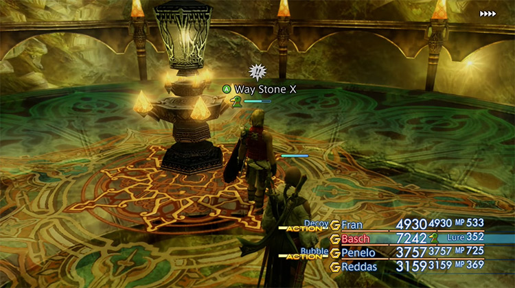 The Great Crystal in Final Fantasy XII