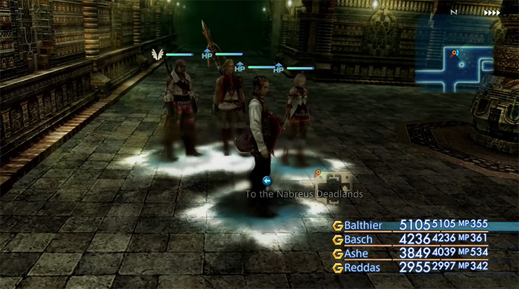 The Necrohol of Nabudis in FF12