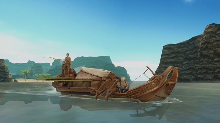 Fishing Side Quest in FF12