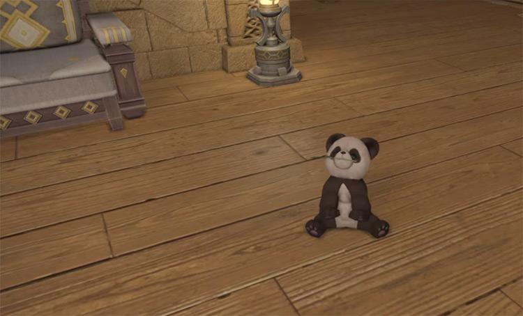 Panda Cub minion from FFXIV