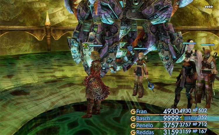 Great Crystal screenshot from FFXII TZA