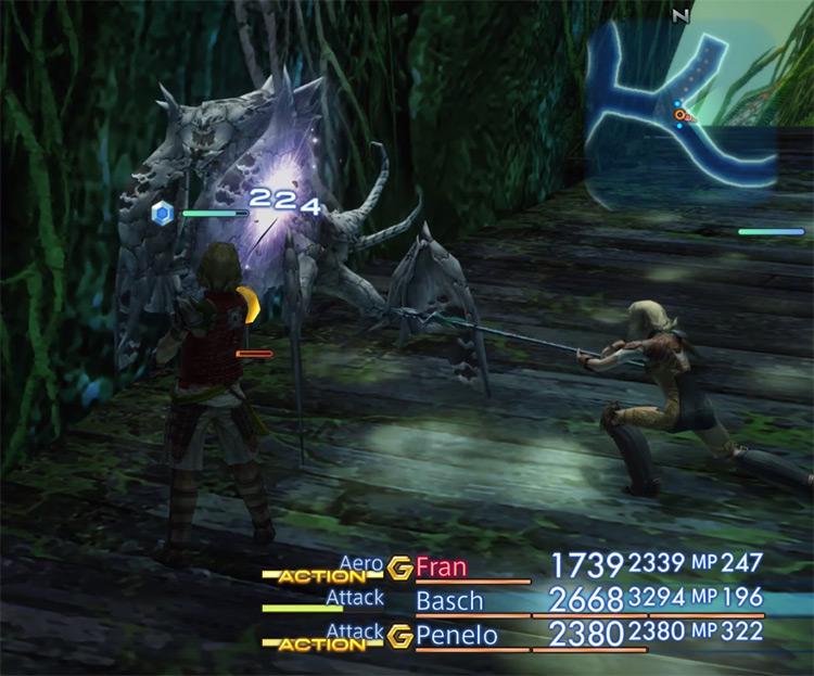 Necrohol of Nabudis FF12 HD Screenshot