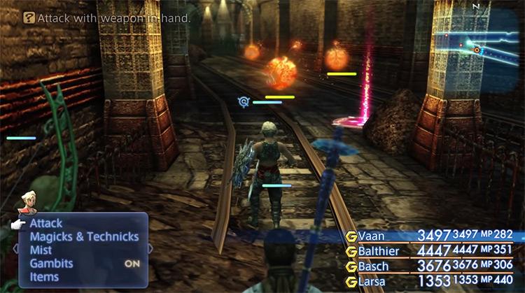 Barheim Passage FF12 HD Screenshot