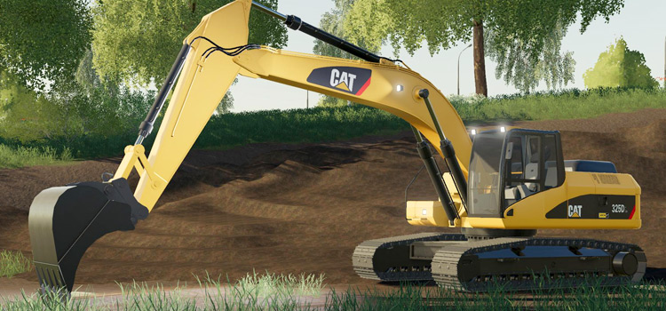 CAT 325DL Exvacator Modded into FS19