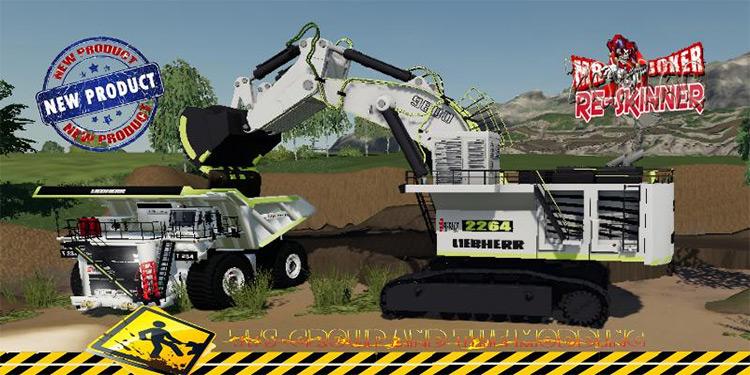 LIEBHERR 9800 Excavator for FS19