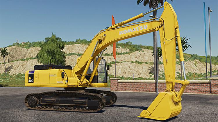 Komatsu PC300 Excavator Mod for FS19