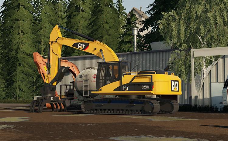 Cat 325DL Excavator Mod for FS19