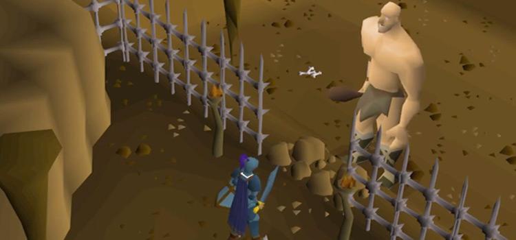 Obor giant boss screenshot in Old School RuneScape