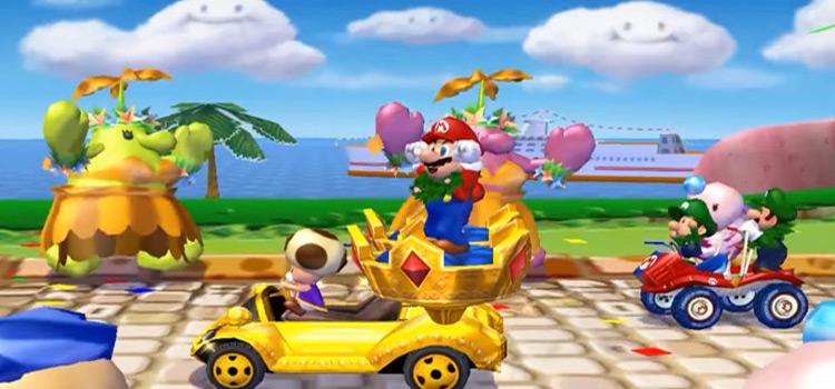 Mario Kart Double Dash GCN Screenshot