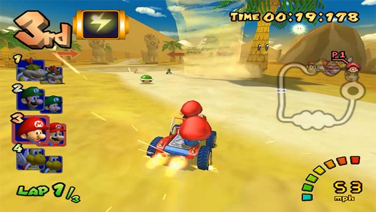 Mario Kart: Double Dash GameCube screenshot