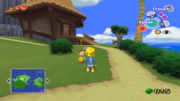 The Legend of Zelda: The Wind Waker game screenshot