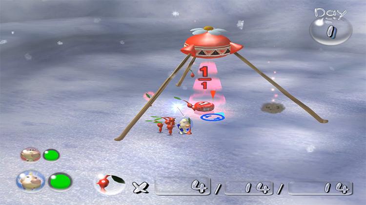 Pikmin 2 GameCube screenshot