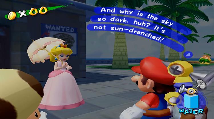 Super Mario Sunshine game screenshot