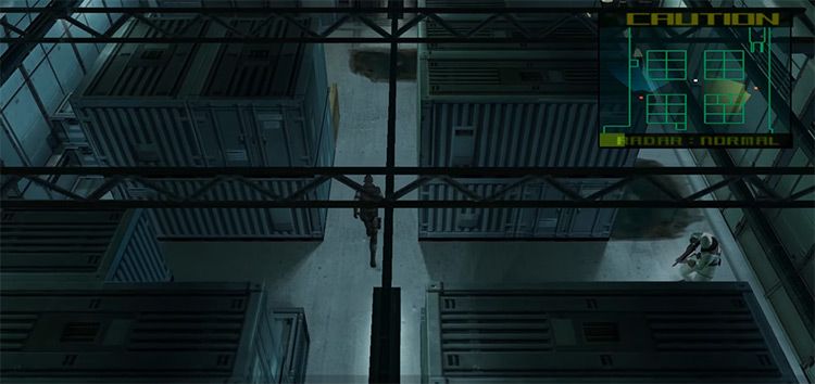 Metal Gear Solid: The Twin Snakes GameCube screenshot