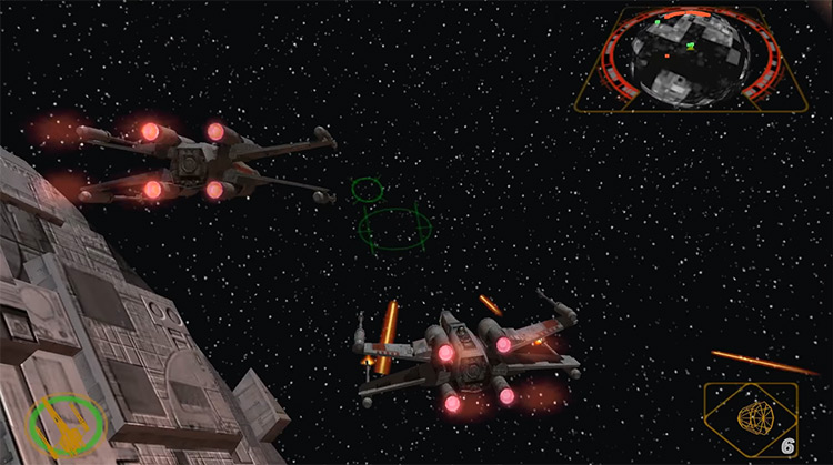 Star Wars Rogue Squadron II: Rogue Leader game screenshot