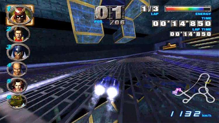 F-Zero GX GameCube screenshot