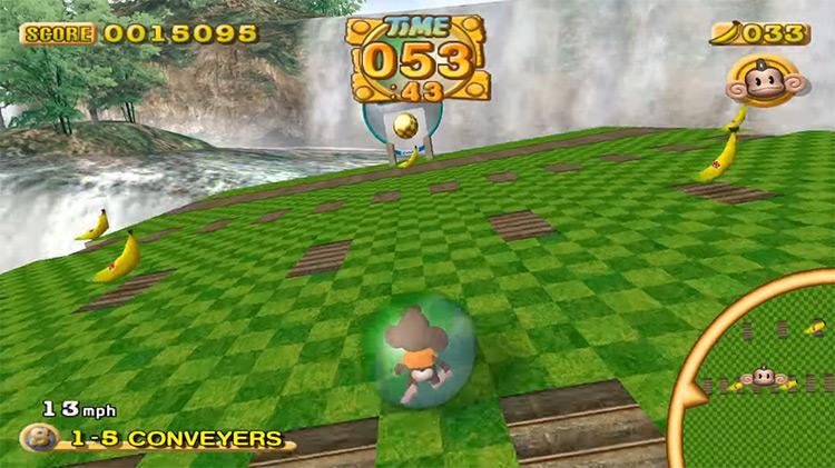 Super Monkey Ball 2 gameplay screenshot
