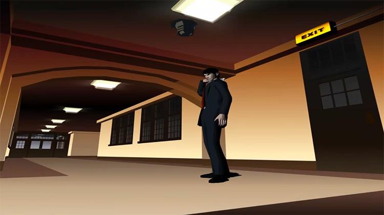 Killer 7 GCN game screenshot