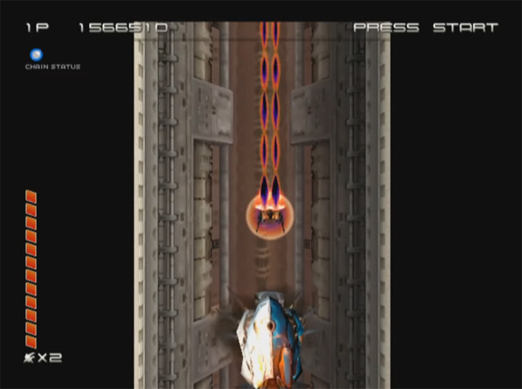 Ikaruga GameCube screenshot