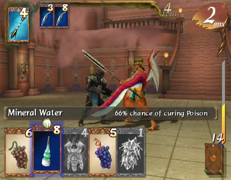 Baten Kaitos: Eternal Wings and the Lost Ocean game screenshot