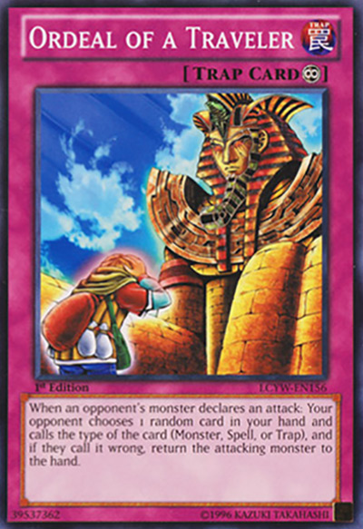 Ordeal of a Traveller Yu-Gi-Oh Card