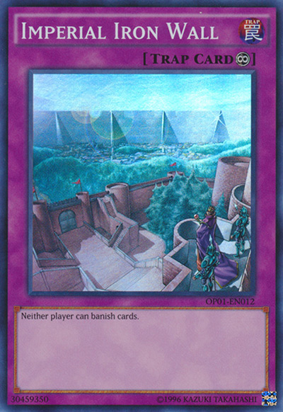 Imperial Iron Wall YGO Card