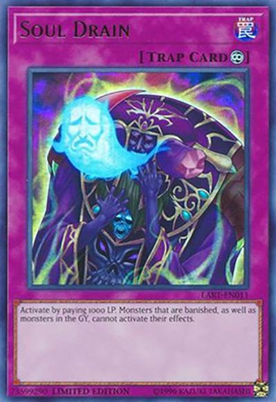 Soul Drain Yu-Gi-Oh Card