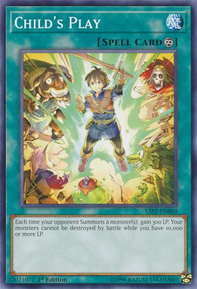 Child's Play Yu-Gi-Oh Card