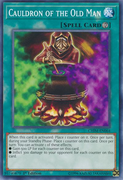 Cauldron of the Old Man YGO Card