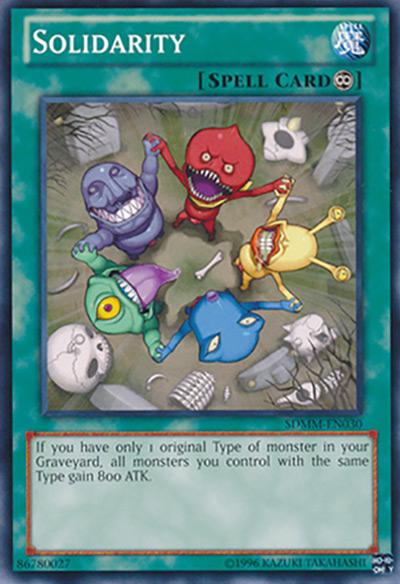 Solidarity YGO Card