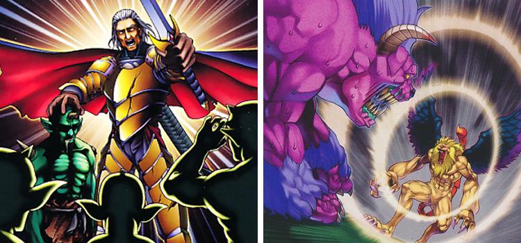 Thunder of Ruler & Threatening Roar YGO