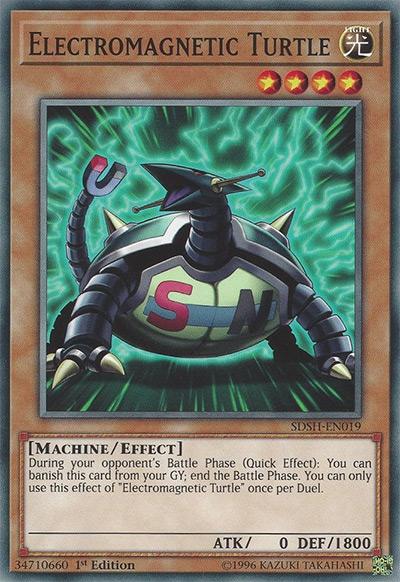 Electromagnetic Turtle Yu-Gi-Oh Card