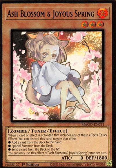 Ash Blossom & Joyous Spring Yu-Gi-Oh Card